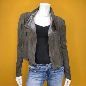 Olive Olivia Gray Cropped Jacket S
